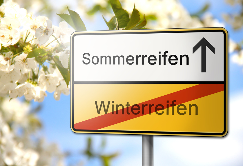 Reifenwechsel Sommer Winter