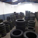 Lager für gebrauchte Reifen